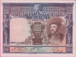 ESPAGNE - 1.000 Pesetas Du 01 07 1925 - Pick 70c Presque  NEUF - [ 1] …-1931 : Premiers Billets (Banco De España)
