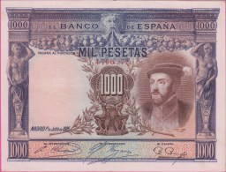 ESPAGNE - 1.000 Pesetas Du 01 07 1925 - Pick 70c Presque  NEUF - 1000 Pesetas