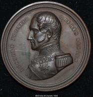 M00143 25 ème Anniversaire De Règne De Léopold I à Bruges (1856) Et Son Profil Au Revers (42 Gr.) - Unclassified