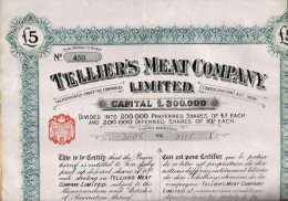 Tellier´s Meat Company, 1912 - Autres