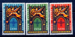 Portugal  N°960 à 962** Reprise De Coimbra - Unused Stamps