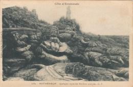 35 - ROTHENEUF - Quelques Types Des Rochers Sculptés (G.F., 2680) - Rotheneuf