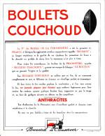 Grand Buvard : Boulets Couchoud - Charbon - NEUF - Buvards, Protège-cahiers Illustrés