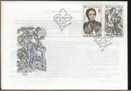 SLOVENSKO - FDC - IZABELA TEXTORISOVA  Postal Worker By Profession - First Female Botanist - FDC