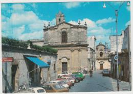 S. Vito Dei Normanni: SIMCA 1307,FIAT 127, INNOCENTI 90/120, AUTOBIANCHI A122, CITROËN DYANE, AUSTIN METRO - Piazza Leo - Voitures De Tourisme