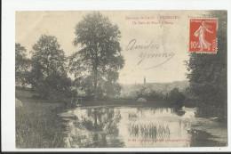 ENVIRONS DE GACE , RESENLIEU , UN COIN DU PARC - France