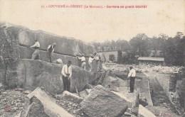 35 - LOUVIGNE Du DESERT (Le Morinais) Carrière De Granit Gouyet. 1908 - France