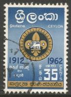 Ceylon. 1962 Golden Jubilee Of Ceylon Boy Scouts Association. 35c Used - Sri Lanka (Ceylon) (1948-...)