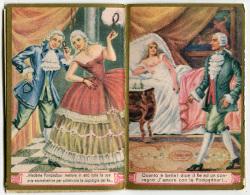 CALENDARIETTO DA BARBIERE MADAME POMPADOUR ANNO 1948 CALENDRIER - Calendriers
