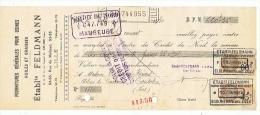 ETABLISSEMENTS  FELDMANN HUILES Et GRAISSES à LILLE (NORD)  1930 - Frankrijk