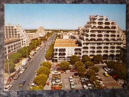 LA GRANDE MOTTE  (34). VUE PARTIELLE.CIRCULE 1984. - France