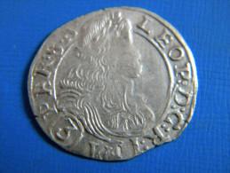 ALLEMAGNE - 3 KREUZER 1684. LEOPOLD 1ER EMPEREUR DU SAINT EMPIRE GERMANIQUE. - [ 1] …-1871 : Etats Allemands