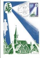 CARTE MAXIMUM  AIDE FAMILIALE RURALE  1971 - 1970-79