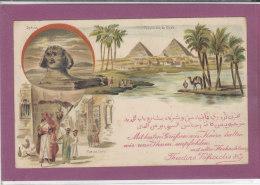 Pyramide De  Gizeh - Sphinx , Rue Du Caire . - Cairo