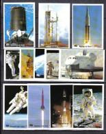 N888 - SERIE 12 IMAGES CONQUETE DE L´ESPACE NASA -  OFFERT PAR KELLOGGS MIEL POPS - Unclassified