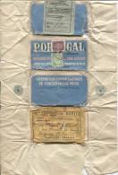 Enveloppe D´un Colis De Sardines Envoyée De Lisboa V.Bruxelles PR463 - 1910-... Republic