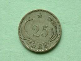 1891 - 25 ORE / KM 796.1 ( For Grade, Please See Photo ) !! - Danemark