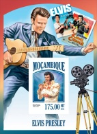 m13402bi Mozambique 2013 Elvis Presley imperf s/s