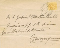 7207. Carta MORA La NUEVA (Tarragona) 1919 - Cartas