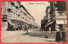 CPA ITALIE LIGURIE LA SPEZIA Corso Cavour - La Spezia