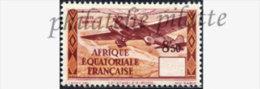 -Afrique Equatoriale PA37** Variété Valeur Déplacée - A.E.F. (1936-1958)