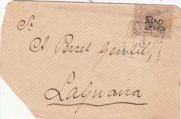 1895, LETTRE , CURACAO, Yv 18, CURACAO TO LAGNAIRA  /5046 - Curaçao, Nederlandse Antillen, Aruba