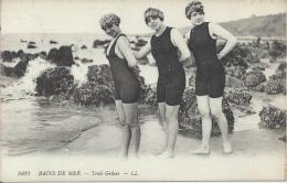 Bains De Mer - Trois Grâces - Natation