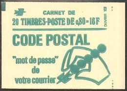 France Carnet 1893 C1 Béquet 0.80 Vert Carnet Fermé  Presse 6 - Carnets