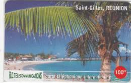 REUNION - Saint Gilles/Reunion, R.D. Telecom Prepaid Card 100 FF, Tirage 1000, Mint - Reunion