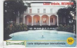 REUNION - Case Creole, R.D. Prepaid Card 50 FF, Tirage 2000, Mint - Reunion
