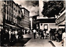 FR66 AMELIE LES BAINS - Combier - Avenue Du Vallespir - Animée - 10 * 15 - Recto Verso - France