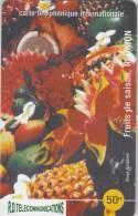REUNION - Fruits De Saison, R.D. Prepaid Card 50 FF, Tirage 1000, Mint - Reunion