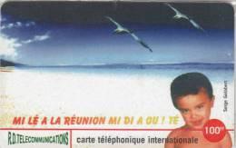 REUNION - Child Of Reunion, R.D. Prepaid Card 100 FF, Tirage 1000, Mint - Reunion