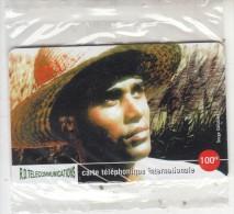 REUNION - Man Of Reunion, R.D. Telecom Prepaid Card 100 FF, Tirage 2000, Mint