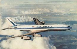 AVIATION - AIR FRANCE - Avion BOEING 707 INTERCONTINENTAL - 1946-....: Moderne