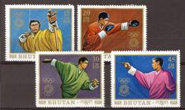 Bhutan 1972, Olympics - Olympiade - Sport *, MLH (not Complete) - Bhutan