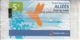 REUNION - France Telecomprepaid Card  5 Euro, 07/05, Mint