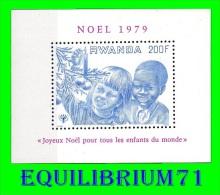 BL83** (945) - Noël Et Année Internationale De L'enfant / Kertmis En Het Internationaal Jaar Van Het Kind - RWANDA - 1970-79: Neufs