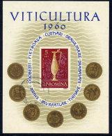 ROMANIA 1960 Viticulture Block Used.  Michel Block 48 - Blocks & Sheetlets