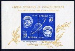 ROMANIA 1963 Vostok 5 And 6 Group Flights  Block Used.  Michel Block 54 - Blocks & Sheetlets