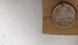 Monnaie - Percée Pour Pendantif ? - Belgique - 50 Fr - Léopold  III - R  Rau - - Bijoux & Horlogerie