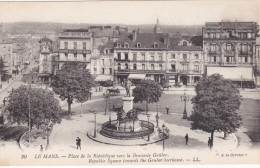 LE MANS, Republic Square Towards The Gruber Beer House, Sarthe, France, 00-10s - Le Mans
