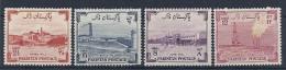 140010799  PAQUISTAN  YVERT  Nº  73/6  **/MNH - Pakistan