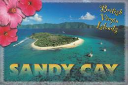 Aerial View, Sandy Spit, BRITISH VIRGIN ISLANDS, 50-70's - Virgin Islands, British