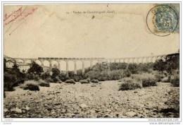 30-CHAMBORIGAUD-Viaduc-Pr écurseur  Dos Non Divisé - Chamborigaud