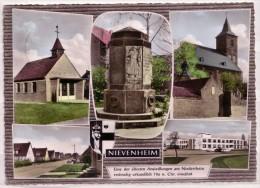 Nievenheim / Mehrbildkarte - Gel. 1963 - 6343  Foto K. H. Felix Birkesdorf-Düren - Dormagen