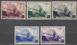 Belgium 1938 Mi#466-470 Mint Hinged