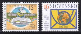 Slovakia 1999 ( UPU, 125th Anniv. ) - MNH (**) - Slovacchia