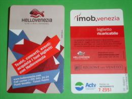 Vaporetto VENEZIA 1 Biglietto ACTV Regione VENETO - Schiffstickets