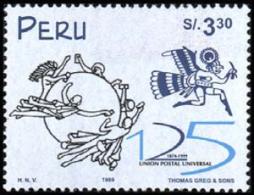 Peru 1999 ( UPU, 125th Anniv. ) - MNH (**) - Peru